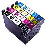 ESMOnline 4 komp. XL Druckerpatronen zu Epson...