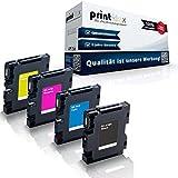 4x kompatible Druckerpatronen für Ricoh Aficio SG...