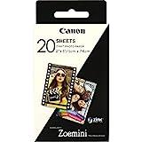 Canon 3214C002 Zink Papier ZP-2030, 20 Blatt für...
