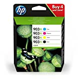 HP 903XL Multipack (Schwarz, Rot, Gelb, Blau)...