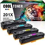 Cool Toner 4 Pack Kompatibel für HP 201X 201A...