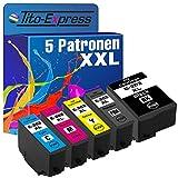 Tito-Express PlatinumSerie 5X Tinten-Patrone XXL...