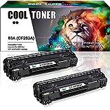Cool Toner 2-Pack Kompatibel für HP 83A CF283A...
