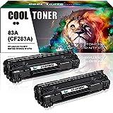 Cool Toner 2-Pack Kompatibel für 83A CF283A...