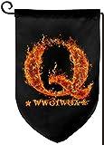 Dlovaee-1 Qanon Wwg1wga Fire Great Awakening Flag...