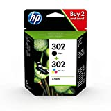 HP 302 Multipack Original Druckerpatronen (für HP...