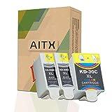 AITX 30XL Patronen Kompatible für Kodak 30b 30c...