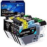 Uniwork LC3219XL Druckerpatronen Kompatibel für...