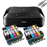 Canon PIXMA MG5750 Multifunktionsgerät schwarz +...